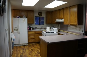 Kitchen at arrival